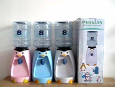 penguin 8 cup water tower- perfect way to know you are drinking enough water everyday.  boom! justified purchase ;)