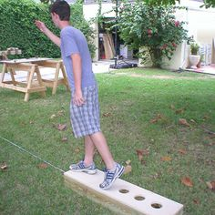 DIY.......game is like horse shoes ,.....Play Washers - Build a Set of Washer Boxes