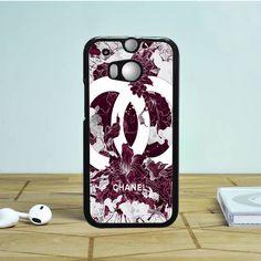 Chanel Fullbloom HTC One M9 Case Dewantary