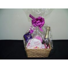 Gift Basket includes - 	Bath Loofa 	Cadbury Dairy Milk chocolate 220g 	Kit Kat Chocolate 170g 	Turkish delight rose and lemon 300g 	EdenVale sparkling cuvee (Alcohol removed) 	Massage star Presented in a gift wrapped basket $48.95 #giftbasket #present #christmas #chocolate #giving www.astylsihcelebration.com.au