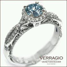 Beautiful blue diamond!