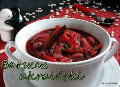 Smaczna Pyza: Barszcz ukraiński