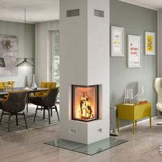 kamine berlin pertaining to comfortable Fire Inserts, Flame Picture, Small Corner, Wood Colors, Glass Door, Stove, Brick, Building, Interior