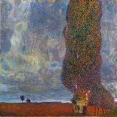 Gustav Klimt, Approaching Thunderstorm (The Large Poplar II )