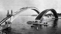 pont en construction