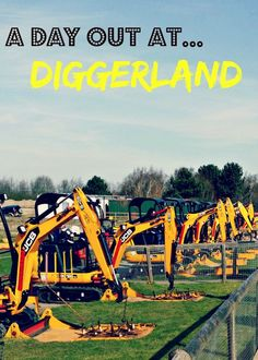 Review of Diggerland - proof that diggers aren't just for boys!