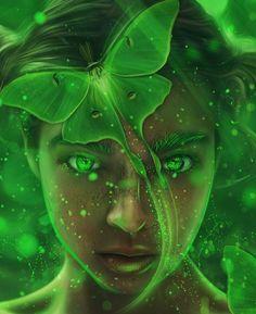 Fantasy Girl, Dark Fantasy, Chica Fantasy, Elves Fantasy, Fantasy Forest, Final Fantasy, Art Vert, Fairy Wallpaper, Book Wallpaper