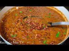Puerto Rican Recipes, Mexican Food Recipes, Ethnic Recipes, Comida Latina, Puerto Ricans, White Beans, Cilantro, Stew, Risotto