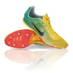 nike zoom victory track spikes ahh they look so light Sporty Outfits, Athletic Outfits, Sporty Clothes, Athletic Clothes, Track And Field Spikes, Track Field, Running Spikes, Nike Shoes, Sneakers Nike