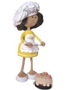 Crochet Patterns-Knitting and Crochet Communication-page Knitted Dolls, Crochet Dolls, Knit Crochet, Crochet Hats, Knitting Patterns, Crochet Patterns, Pretty Dolls, Amigurumi Doll, Doll Clothes