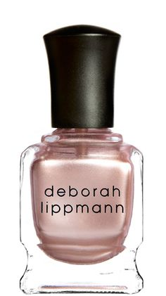 It's not cheap, but Deborah Lippmann has the most amazing colors. This is what I'm wearing now.