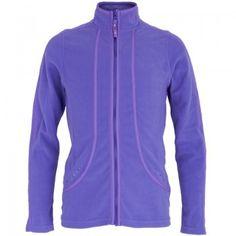 Poivre Blanc Girls Purple Polar Fleece Jacket | AlexandAlexa
