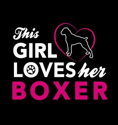 This GIRL LVES her BOXER ❤️
