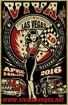 HOT RODDER TICKET - VIVA LAS VEGAS ROCKABILLY WEEKENDER 19 (CAR SHOW ONLY)The Polecats, The Jets, The Dynotones, The Thirsty Crows
