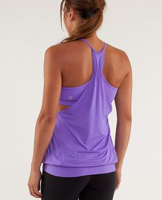 No Limits Tank - the mighty @Lululemon has answered my prayer and now has this in purple