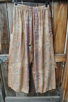 pretty Mission Canyon rayon pants with fun side ties