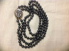Victorian Revival Double Strand Cameo Necklace by SweetBettysBling, $85.00
