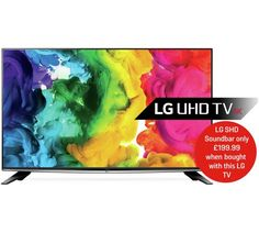 Buy LG 40 Inch 40UH630V Ultra HD 4K Web OS Smart LED TV at Argos.co.uk - Your Online Shop for Televisions, Televisions and accessories, Technology.
