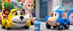 Vroomiz Yumurcak Tv de yayınlanan konuşan arabalar Çizgi Film Oyunu -yon- -space- tuşları ile oynayacaksınız.Oyunda seçtiğiniz kahramanlarla yarışabi