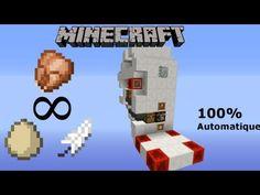 Poulailler 100% automatique - avoir de la nourriture à linfini - Minecraft tutoriel 1.5