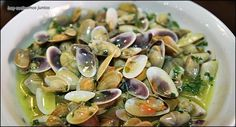 Spanish Kitchen, Mussels, Canapes, Clams, Fish And Seafood, Salad Recipes, Dinner Recipes, Appetizers, Vegetables