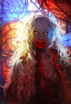 """In The Dark, Painted By Blood"": Mind-Blowing NSFW Artworks By Sabbas Apterus"