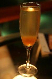 Pumpkin Champagne Cocktail?!!