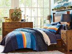 I love the PBteen Emerson Pipeline Surf Bedroom on pbteen.com