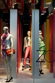 WindowsWear | DVF, New York, January 2013