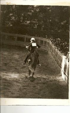 Dale Milligan in Freedom Hall. One of the great ones. He trained my mare; The Wind Song.