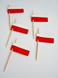 Wykałaczka flaga Polski Polska - 2szt