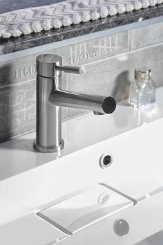 BERRY stojánková umyvadlová baterie bez výpusti, nerez : SAPHO E-shop Water Faucet, Faucets, Berry, Sink, Shopping, Design, Home Decor, Taps, Sink Tops