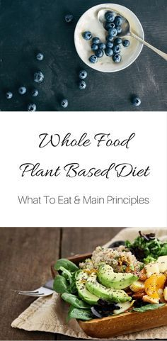 Learn the main principles of a whole foods plant-based #vegan diet, what to eat and to avoid.