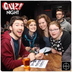 #CentreCircle #Wednesday #Quiz night - Come and enjoy your favourite drinks and participate in a memory refreshing quiz!