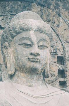 Vairocana Buddha, Fengxian Si, Longmen Caves - Luoyang, China by demccain, via Flickr