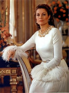 Princess Grace in Dior dress, 1968