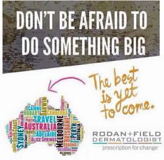 Anyone from Australia?? Please message me. The opportunity with Rodan and Fields is HUGE!!!!