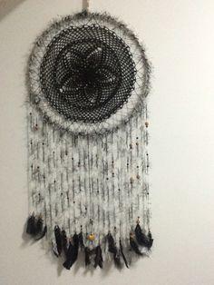 Dream catcher from a placemat from spotlight.. Why not?... $50