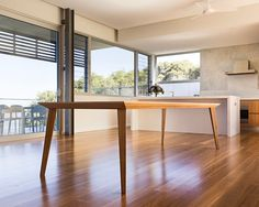 """1,455 Likes, 19 Comments - Nathan Day (@nathan_day_design) on Instagram: """"We delivered this 2.7m Origami table to a beautiful house on Yallingup Hill recently.…"""""""