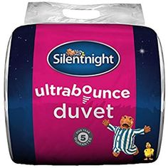 New Sarah Jayne Hollowfibre Anti-Allergy Duvet Quilt 4.5Tog Size Choice FREE P/&P