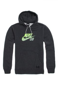 PacSun presents the Nike SB Icon Gradient Pullover Hoodie for men. This solid men's hoodie comes with a Nike SB logo on front, along with a front pocket pouch.	Solid hoodie with Nike SB logo on front	Matching hood with white drawstrings	Front pocket pouch	Fleece lining	Long sleeves	Machine washable	78% cotton, 22% polyester	Imported