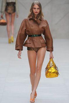 Burberry Prorsum Spring 2013 Ready-to-Wear Cara Delevingne