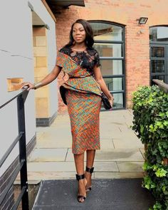 We are lucky to live in a world where pretty much anything goes, fashion-wise. It means that people can express themselves in all kinds of ways through clothing.In many of our post, we have brought to you different Ankara fashion styles that you can be wo African Dresses For Women, African Print Dresses, African Attire, African Fashion Dresses, African Wear, African Women, Fashion Outfits, Ankara Fashion, Ankara Styles For Women