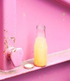 Peach-Basil Lemonade