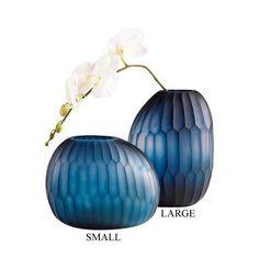 Edmonton Glass Vase in 2 Sizes