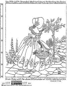 1935 06 good needlework magazine transfer | Flickr - Photo Sharing!