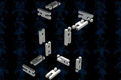12-Piece H-Burr Puzzle - SOLIDWORKS,STEP / IGES,Parasolid - 3D CAD model - GrabCAD