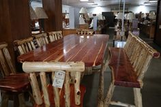 Millers Southern Ohio Amish Furniture Store and Bakery in Adams County near Cincinnati Bulk Food, Amish Furniture, Weekend Sale, Dining Table, Sun, Home Decor, Decoration Home, Room Decor, Dinner Table