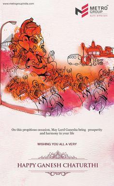 Metro Group wishes you Happy Ganesh Chaturthi 2016 www.metrogroupindia.com #ganpati #ganeshchaturthi #ganpati2016 #occasion #festival #realestate #residential #homes #luxury