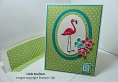 Linda K's Stampin' Page: DOstamperSTARS Thursday Challenge 129 Flamingo Lingo and Cycle Celebration